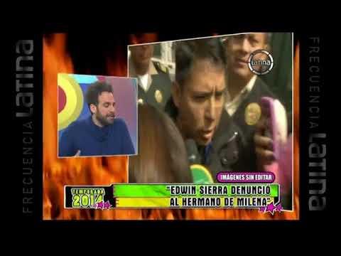 Edwin Sierra denunció a  hermano de Milena Zárate por supuesta agresión