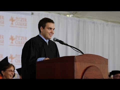 Jon Lovett l 2013 Pitzer College Commencement Keynote -- May 18, 2013