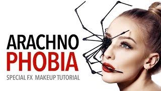 Arachnophobia special fx makeup tutorial