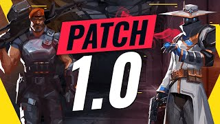 NEW UPDATE: BEST Agents TIER List - Valorant Patch 1.0