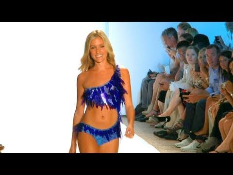 Kristin Cavallari In Glass Bikini By Diesel  Miami Swim Fashion Week 2012 | Fashiontv - Ftv video