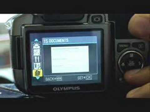 Olympus SP- 550 UZ demonstration video