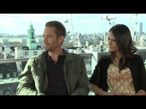 Paul Walker & Jordana Brewster's Fast & Furious 6 Interview Pt.1 - Celebs.com