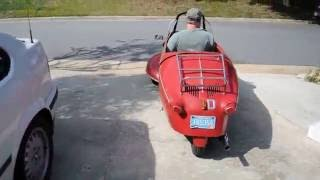 FIRST DRIVE MESSERSCHMITT KR-175 !