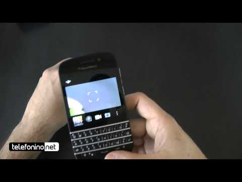 BlackBerry Q10 videoreview da Telefonino.net