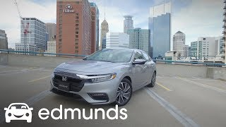 Is the 2019 Honda Insight Better than the Toyota Prius?   First Drive   Edmunds