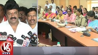 Minister Talasani Srinivas Yadav Holds Review Meeting On Ujjaini Mahankali Bonalu 2018