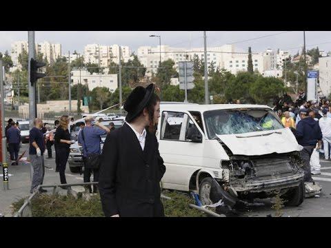 Jerusalem Violence | Palestinian Rams Into Jerusalem Crowd as Tensions Rise