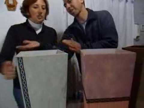 MACETAS ARTESANALES- La abuela de las macetas II