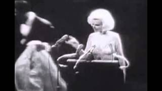 Happy Birthday Mr. President sung by Marilyn Monroe to President John F. Kennedy