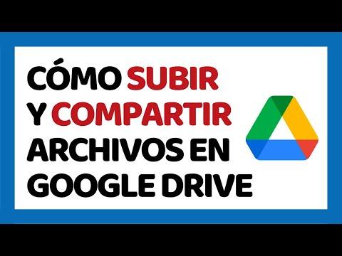 Cómo Subir y Compartir Archivos en Google Drive 2017