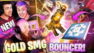 *NEW* GOLD TAC SMG & BOUNCERS ARE BACK?! - FT. NINJA, DRLUPO & FEARITSELF