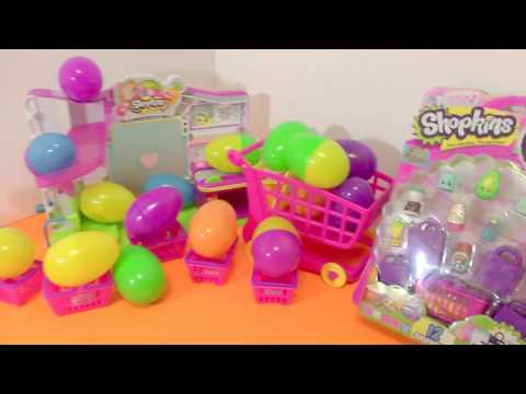Shopkins Egg Opening, 20 Surprise Eggs with Season 1 and Season 2 Shopkins!