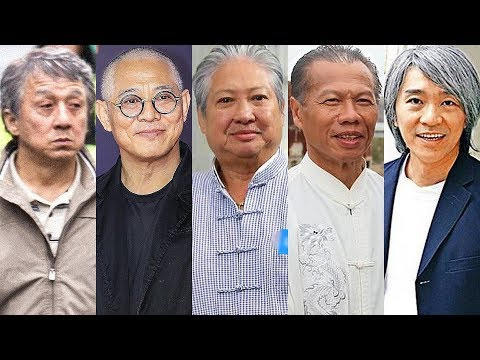 20 Kung Fu Stars ★ Then and Now ★ 2019