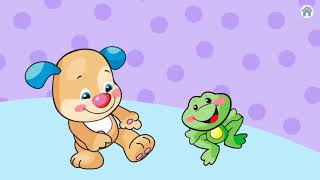 Learn Body Parts for kids With Where's Puppy's Nose Educational Video For Kids