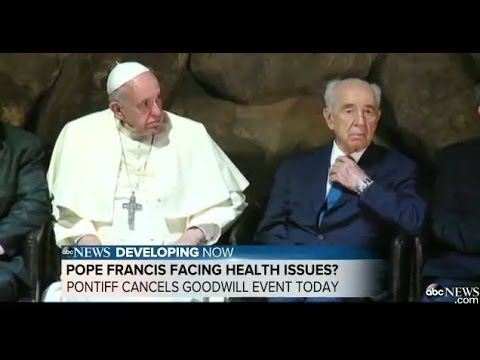 Pope Francis Sick Indisposed Pontiff Hectic Schedule Health Concerns