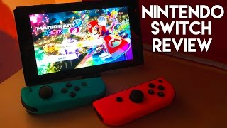 Nintendo Switch HANDS ON REVIEW!! 4+ HOURS W/CONSOLE, CONTROLLERS, GAMES!!