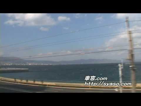 9)【車窓】「ゆふいんの森」3号 大分~別府 別府行