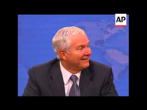 In remarks about authoritarianism and modern media, Sec. of Defense Robert Gates admits he has never