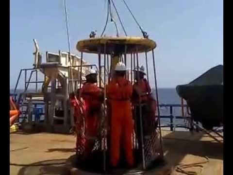 Personnel basket transfer Offshore