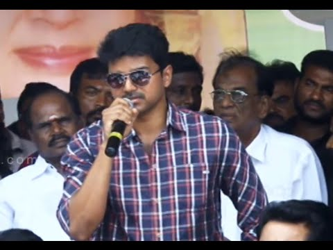 Vijay, Sivakumar and Bhagyaraj Speech at protest to close the Sri Lankan Embassy