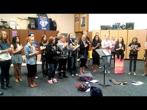 Gate - Middle Park High School Concert Choir - Granby, Colorado