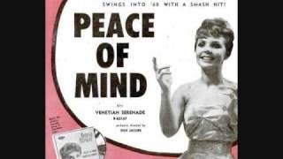 Watch Teresa Brewer Peace Of Mind video
