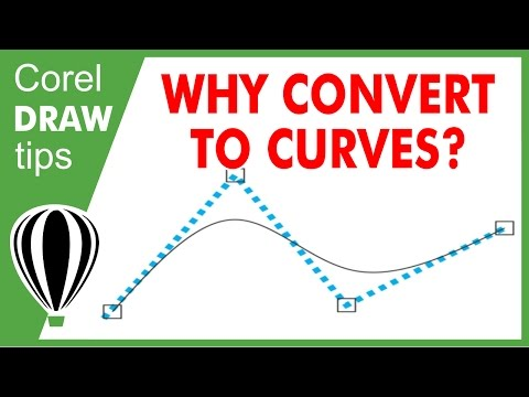 Why Convert to Curves in CorelDraw
