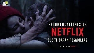 5 Recomendaciones de Terror en Netflix Que te Darán Pesadillas   Fotograma 24 con David Arce