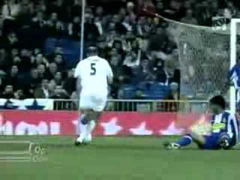 10 mejores goles de zidane: