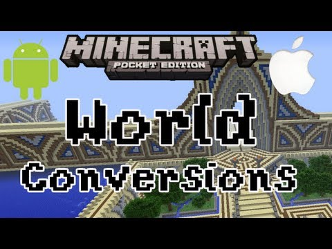 Minecraft Pocket Edition   Convert Creative World to Survival (Vice Versa)   Android + iPhone
