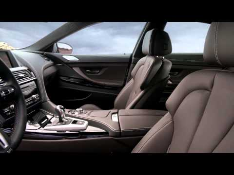 BMW M6 2013 Gran Coupé, интерьер