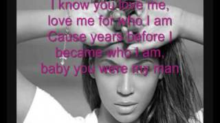 Beyonce - Dangerously in love with lyrics