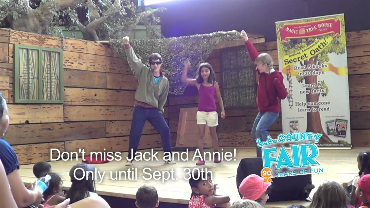 Jack and annie magic tree house