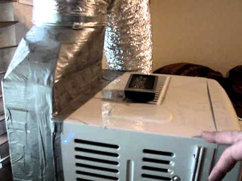 Room Air Conditioner Exhaust Duct