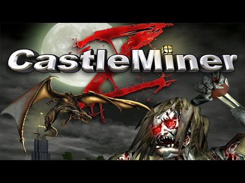 ♠ Castle Miner Z: Lucky Blocks + Dragon Annihilation!!! - CMZ PC Survival Gameplay ♠
