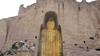 World-famous Buddhas of Bamiyan resurrected in Afghanistan