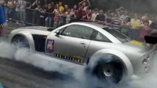 Parade of Power MG X Power SVR burnout Wellingborough 2008