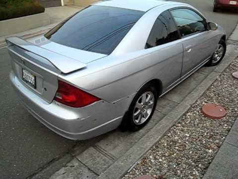 2003 Honda Civic EX Coupe - Manual - Walk Around - YouTube