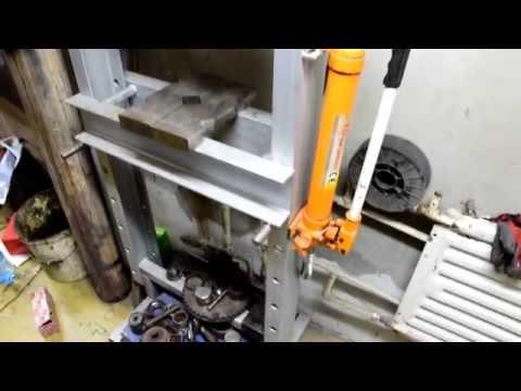 Пресс для изготовления топливных брикетов самодельные