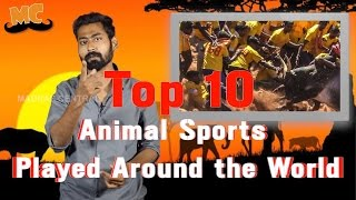 TOP 10 Animal Sports Played around the World | Ft. Varun | Countdown | Madras Central