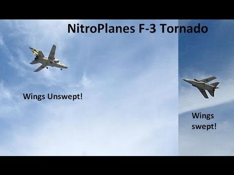 NitroPlanes Swing Wing F-3 Tornado Product review.