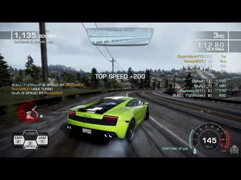 Need for Speed: Hot Pursuit Multiplayer Charged Attack