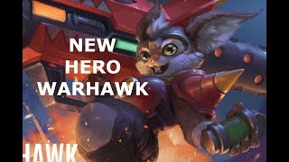 NEW HERO WARHAWK ROCKET MASTER! Vainglory 5v5