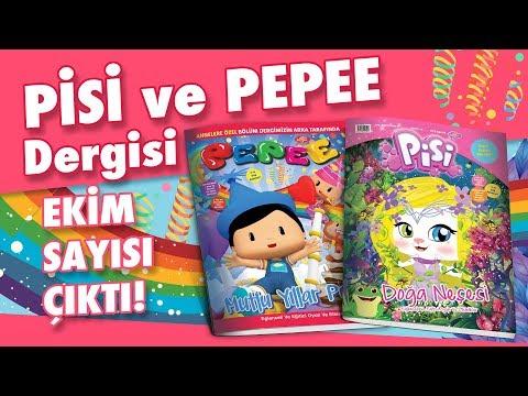 Pepee ve Pisi Dergileri Ekim Sayısı Çıktı! - Düşyeri