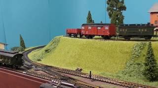 Nostalgie Modellbahn Fleischmann H0 Morgenzüge mit T3 (kurze Stichbahn)