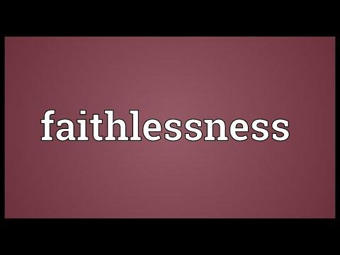 Header of faithlessness
