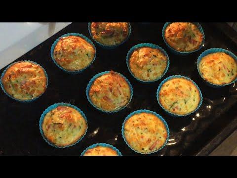 ✔МАФФИНЫ КАБАЧКОВЫЕ/vegetable's muffins