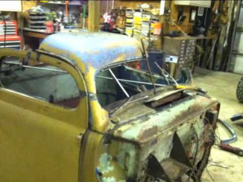 Rat Rod ford truck