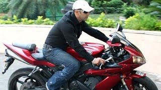 Salman Khan Cars And Bikes Collection 2016 - Audi R8, Lexus, Suzuki Hayabusa, Yamaha R1